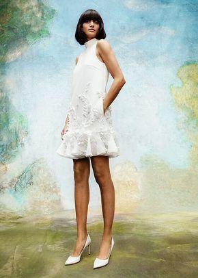 WISTERIA GARDEN V BACK MINI DRESS, 4423