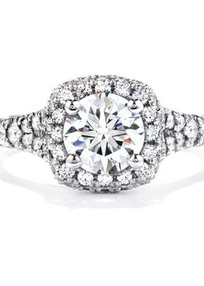 HOF Signature 6 Prong Solitaire, Hearts on Fire
