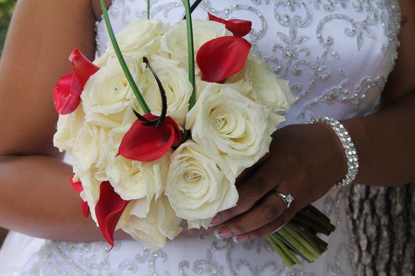 evelyn wedding bouquet 2013