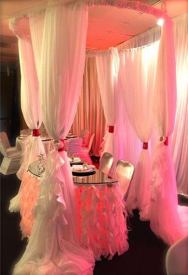 hall wedding reception