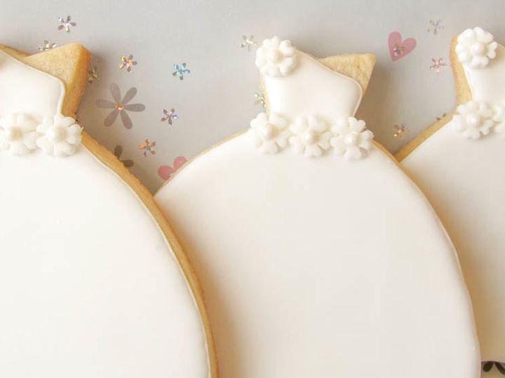 Tmx 1368129047963 The Wedding Cookie Shoppe 3 Flower Band Hackensack wedding favor