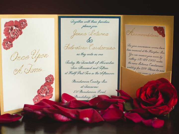 Tmx 1478522602519 Dsc0023sdfg Perkasie, Pennsylvania wedding invitation