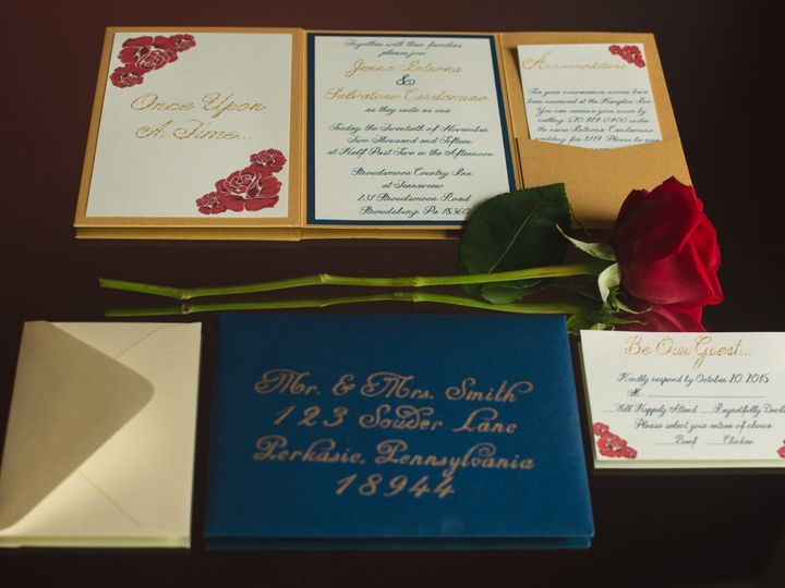 Tmx 1478522630314 Dsc0042sdfg Perkasie, Pennsylvania wedding invitation