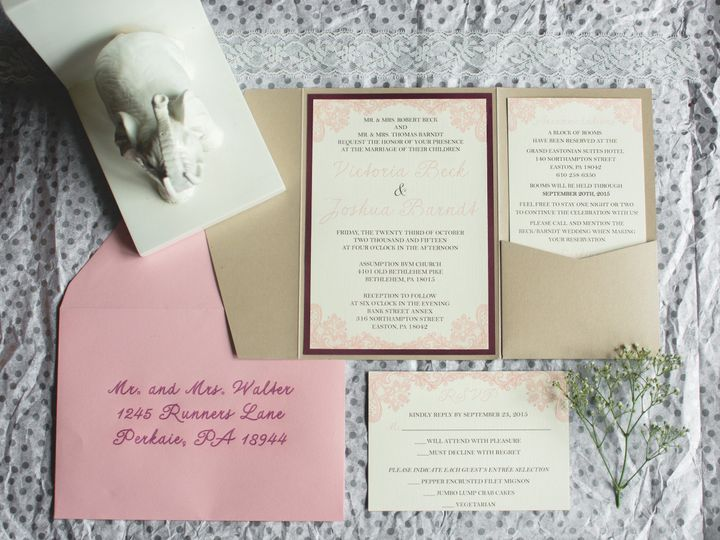 Tmx 1478522747444 Dsc0096sdfg Perkasie, Pennsylvania wedding invitation