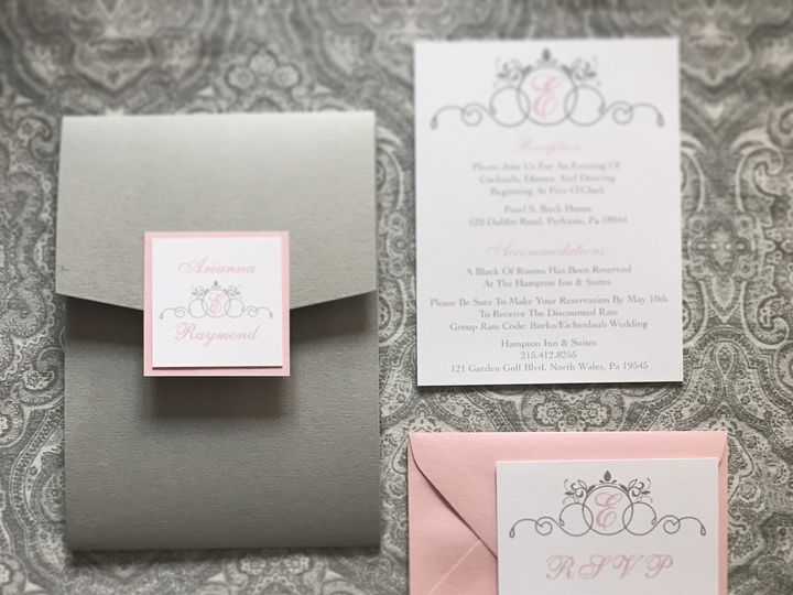 Tmx 1500224790752 Img9100 Perkasie, Pennsylvania wedding invitation