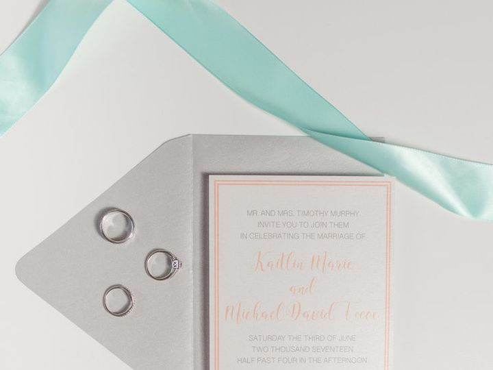 Tmx 1513888695874 Prettyinkpress2 Perkasie, Pennsylvania wedding invitation