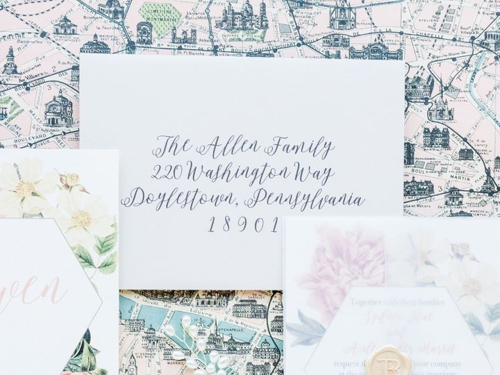 Tmx Dearly Invited Wedding Invitations Andrea Krout Photography 6 51 561000 1561945926 Perkasie, Pennsylvania wedding invitation
