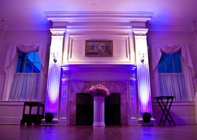 Tmx 1353527666436 FireplaceUplighting Harrisburg wedding dj