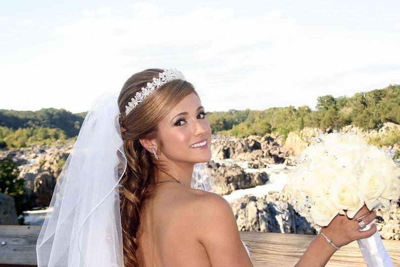 wedding hair for shaden1