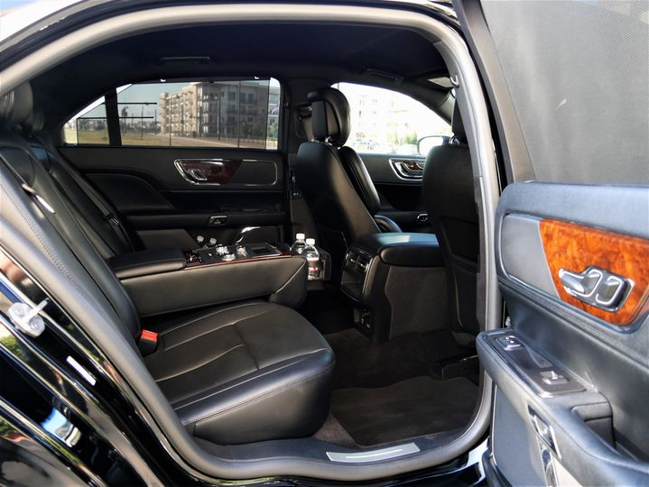 Interior of the car