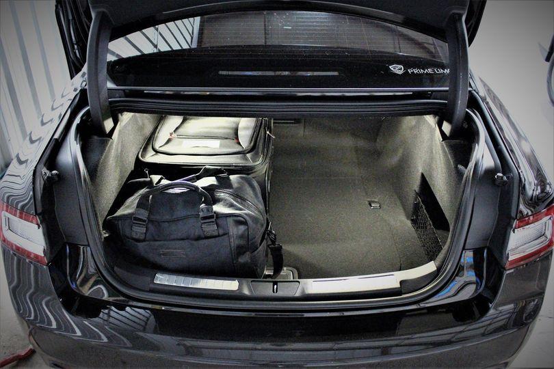 Trunk interior