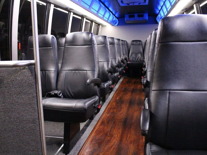 Tmx 1497061346737 Mini Bus Interior Front Dallas, Texas wedding transportation