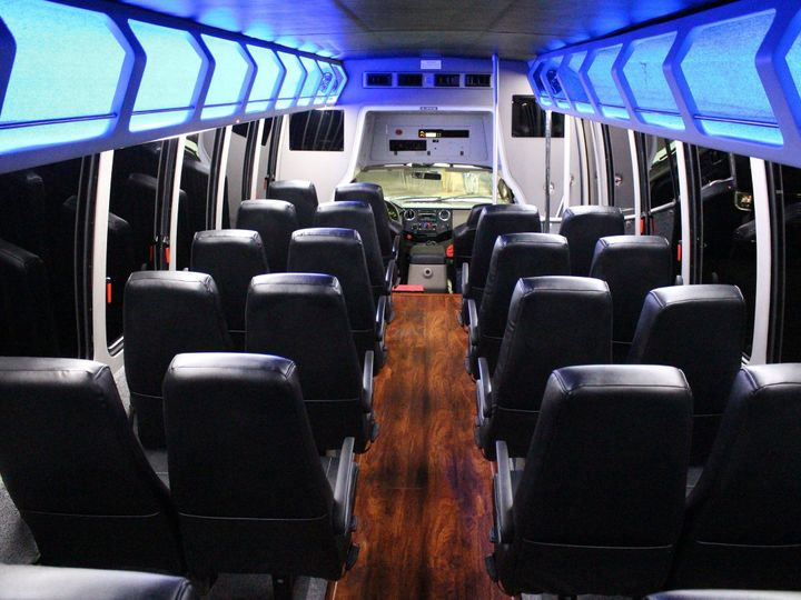 Tmx 1497061348338 Mini Bus Interior Back Dallas, Texas wedding transportation