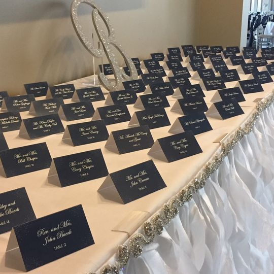 Guest name cards