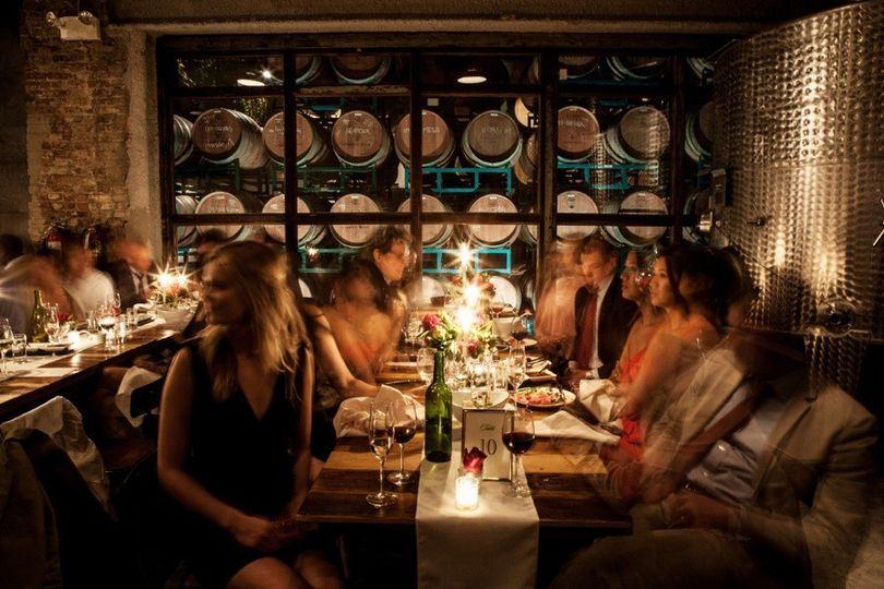 Harvest Room Dinner Guests