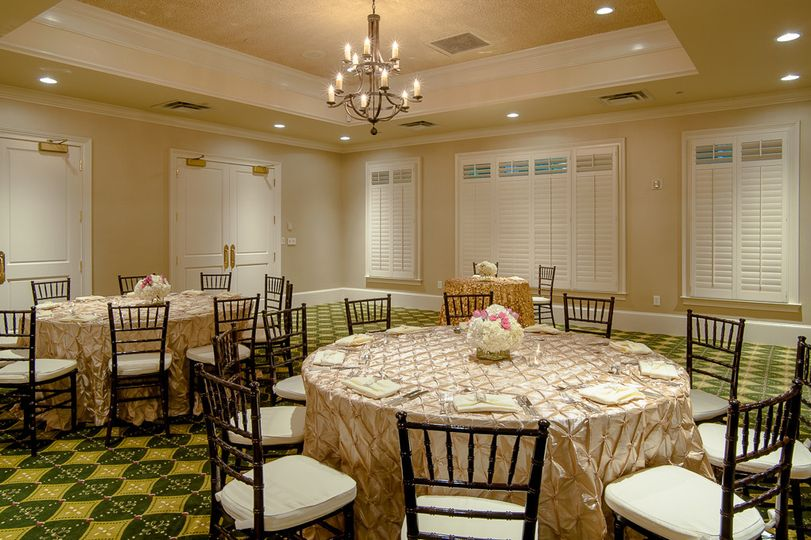 An inviting reception space