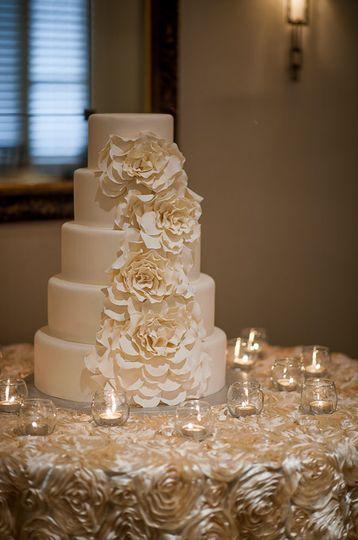 The beautiful cake