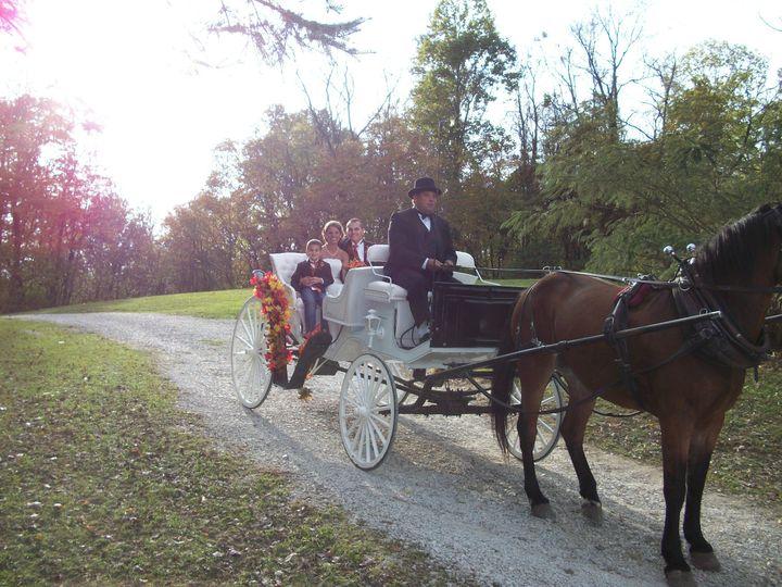 Post Ceremony Carriage