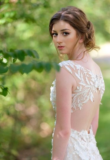 Fantasy wedding frock