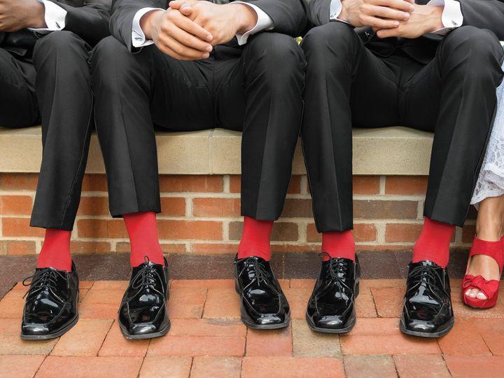 Tmx Socks Red W Bride 51 122100 Brighton, MI wedding dress