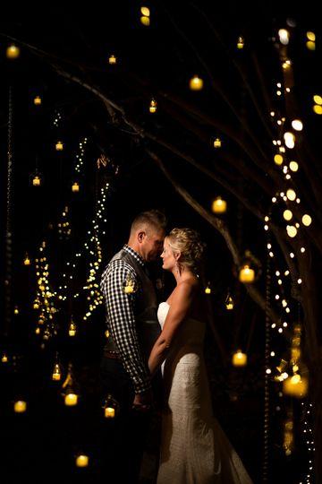 Dreamy backyard ABQ wedding