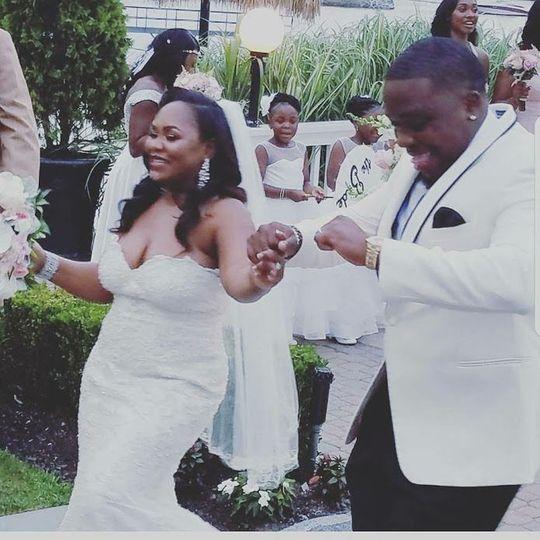 Congratulations to Mr. & Mrs. Cunningham