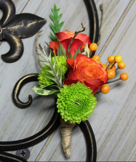 Mixed Flower Boutonniere