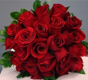 Tmx 1469466940849 Two Dozen Roses Bridal Bouquet 400 400 Des Moines, IA wedding florist