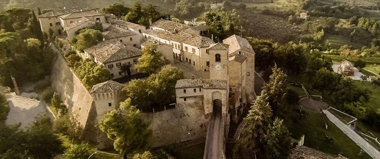 A medieval village