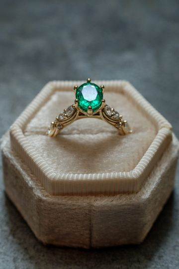 Annie's Emerald Ring