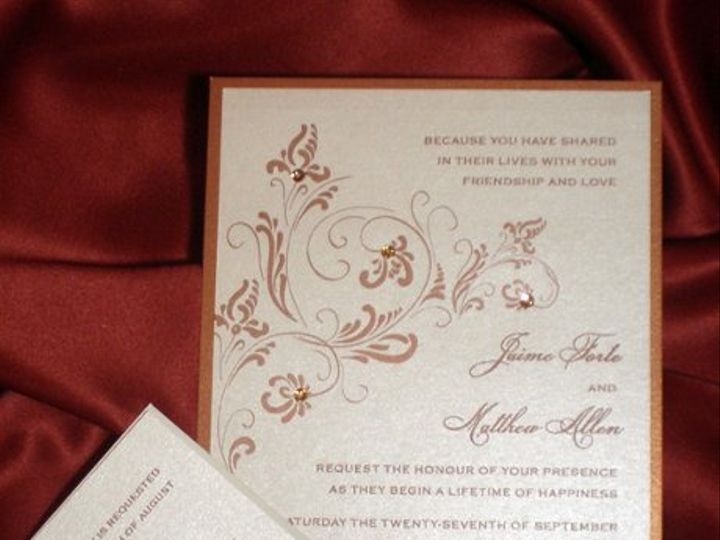 Tmx 1295999840947 Jaimealow Plainfield, New Jersey wedding invitation