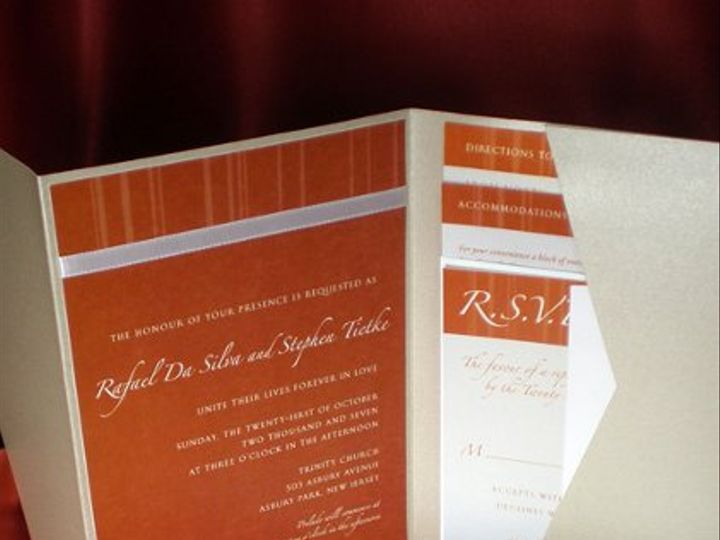 Tmx 1295999848713 Raflow Plainfield, New Jersey wedding invitation