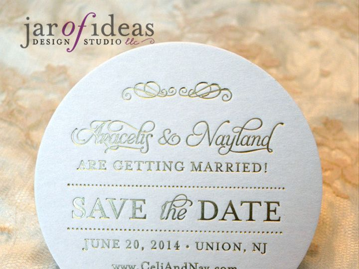 Tmx 1399557783884 Agstd Plainfield, New Jersey wedding invitation
