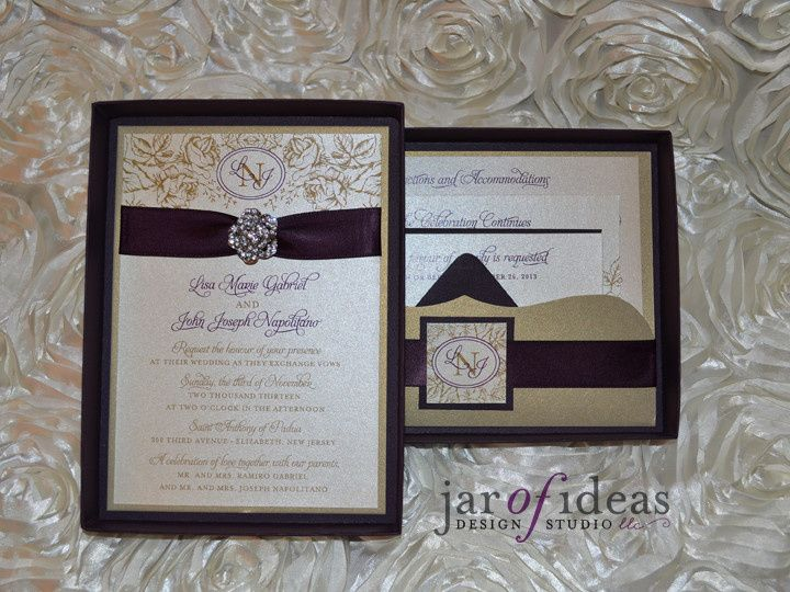 Tmx 1399557808696 Lisainvit Plainfield, New Jersey wedding invitation
