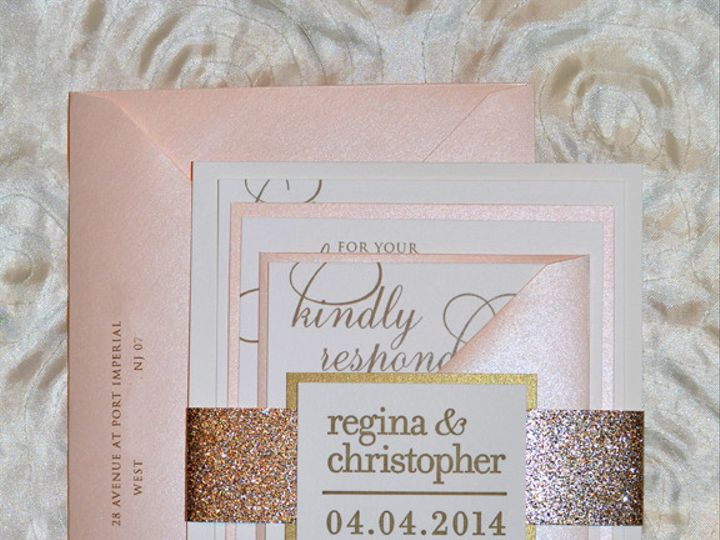 Tmx 1399557861406 Ro Plainfield, New Jersey wedding invitation