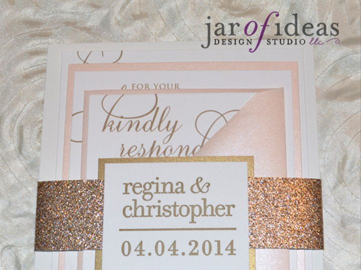 Tmx 1399557888248 Ro Plainfield, New Jersey wedding invitation