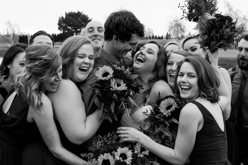 Bridal party love
