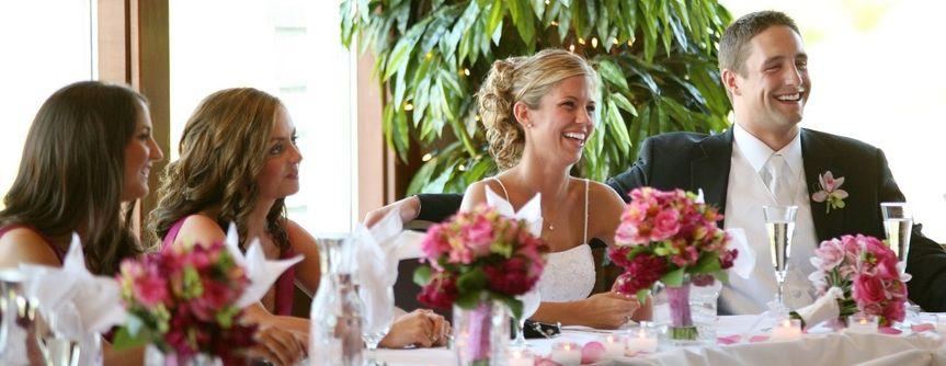Bridal Party at Head Table
