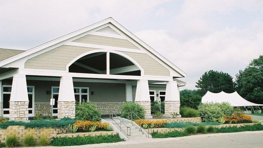 Front Entrance of Banquet Center