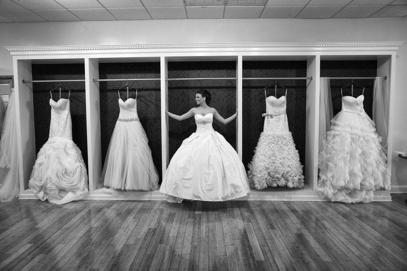 Stunning wedding gowns