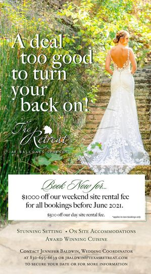 retreat weddings discount 51 170200 161014607462469