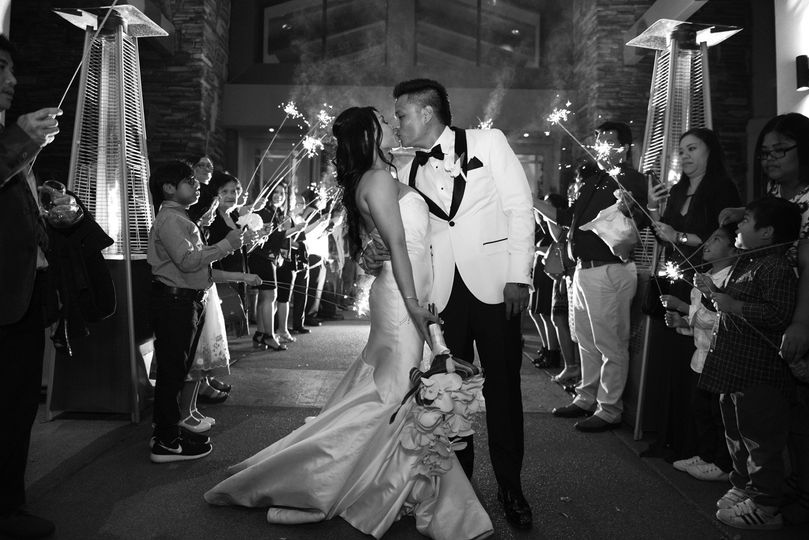 Sparkler exit at Anthem Country Club, Henderson NV>