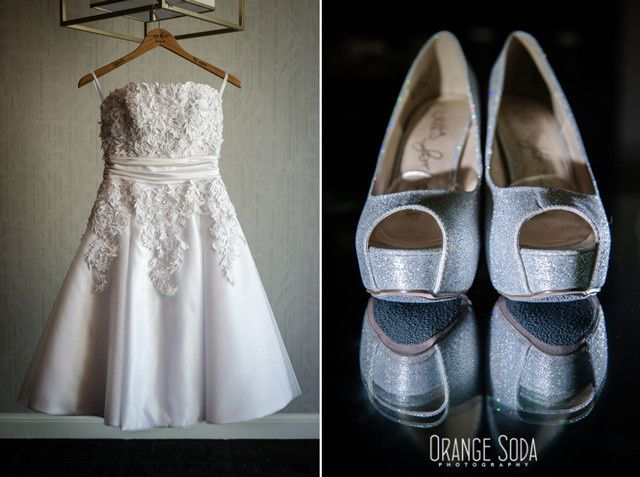 wedding dress shoes las vegas