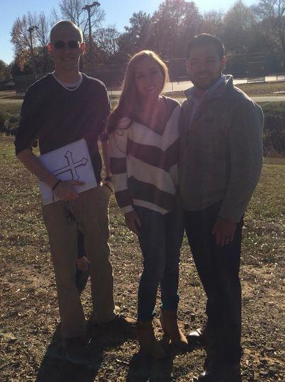 November 19th, 2017 - Conway, Arkansas Congratulations, Alexandria and Brandon! Cold weather can't...