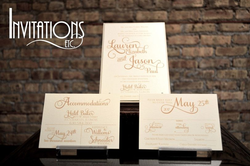 Invitations Etc, Inc