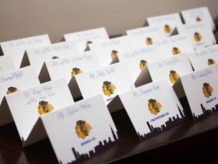 Tmx 1439062287033 Kruegerplacecards Batavia wedding invitation