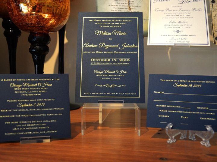 Tmx 1439062357050 Wadzitainviteset Batavia wedding invitation