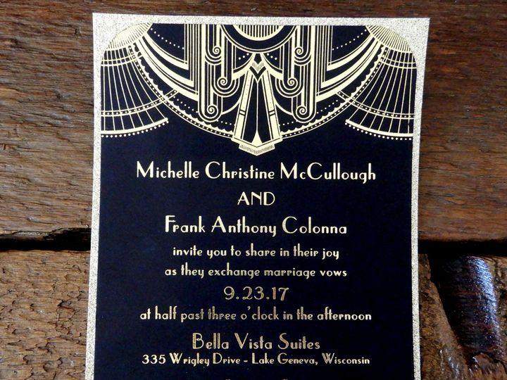 Tmx 1510075918207 Sampleinvite2 Batavia wedding invitation