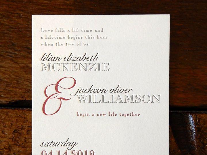 Tmx 1510076391169 Sampleinvite4 Batavia wedding invitation