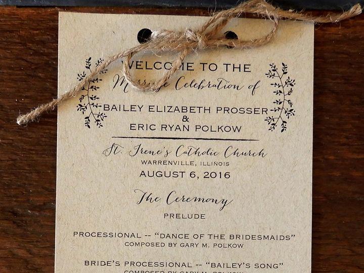 Tmx 1510076444640 Sampleprogram1 Batavia wedding invitation